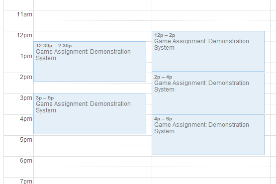 HorizonStaffScheduler.com provides automatic calendar synchronizing for employees and instructors to keep their schedules and assignments organized.